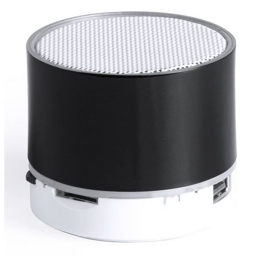 Trådløs Bluetooth Højtaler Med Fm Radio, Lys, Kortlæser Og Håndfri – Sort