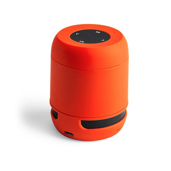 Trådløs Bluetooth Højtaler Med Jack Og Kortlæser – Orange