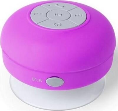 Trådløs Bluetooth Højtaler Med Micro Usb – Lilla