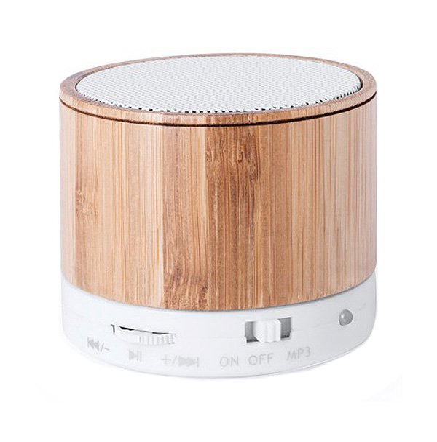 Trådløs Bluetooth Højtaler Og Fm Radio Med Håndfri – Træ