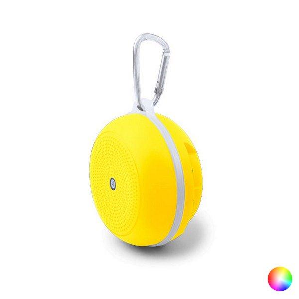Trådløs Bluetooth Højtaler Og Fm Radio Med Karabinhage Og Håndfri – Pink