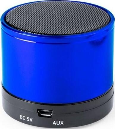 Trådløs Bluetooth Højttaler Med Fm Radio Usb Og Micro Sd 3w – Blå