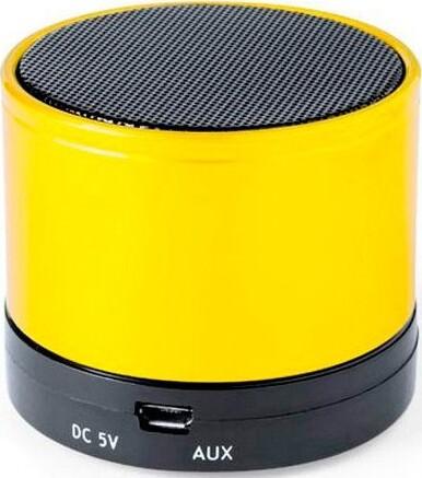 Trådløs Bluetooth Højttaler Med Fm Radio Usb Og Micro Sd 3w – Gul