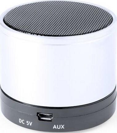 Trådløs Bluetooth Højttaler Med Fm Radio Usb Og Micro Sd 3w – White