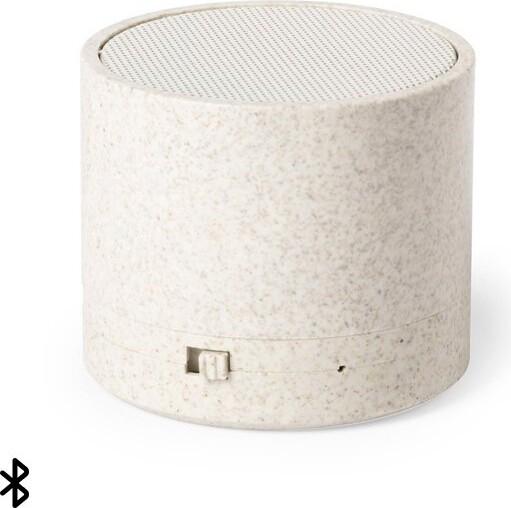Trådløs Højtaler Med Bluetooth Og Radio – 2 Timer – Natural