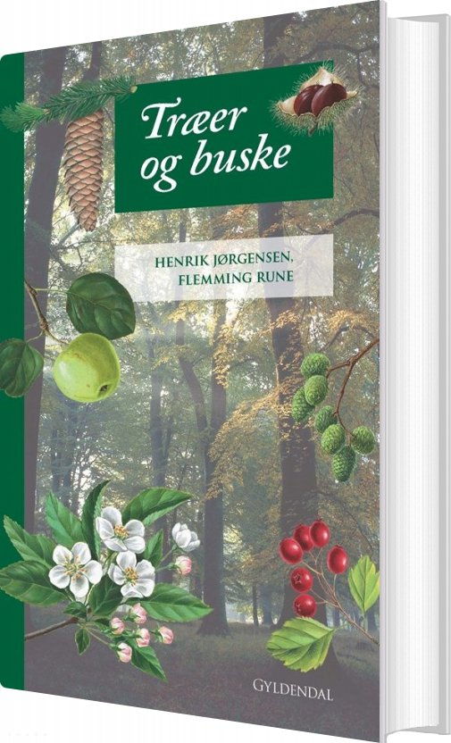 Image of   Træer Og Buske - Henrik Jørgensen - Bog