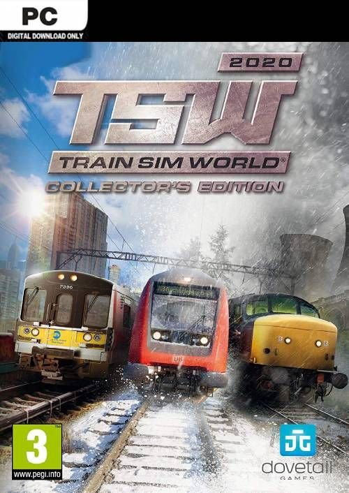Image of   Train Sim World 2020 - Collectors Edition - PC