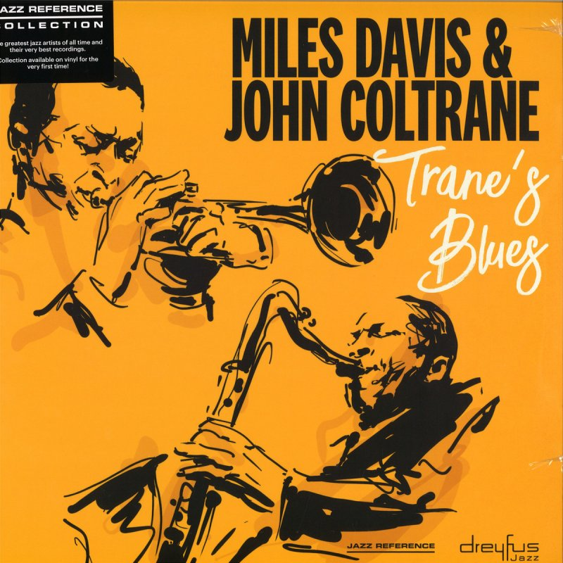 Image of   Miles Davis & John Coltrane - Tranes Blues - Vinyl / LP