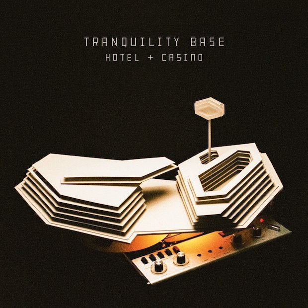 Image of   Arctic Monkeys - Tranquility Base Hotel & Casino (clear Vinyl) - Vinyl / LP