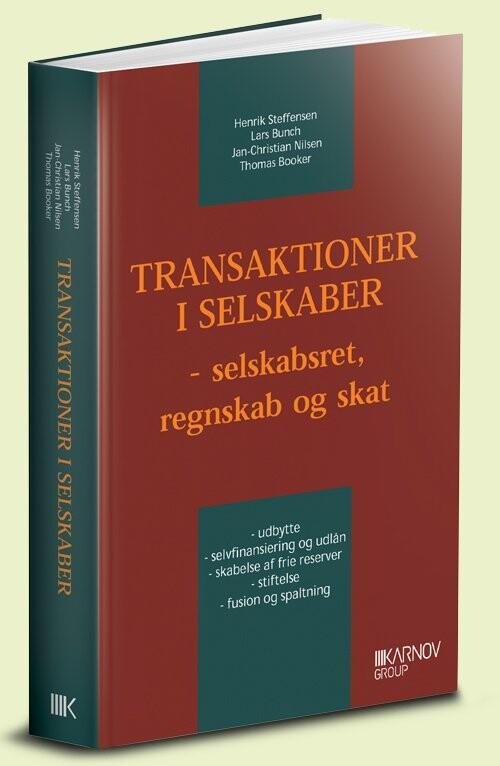 Transaktioner I Selskaber - Henrik Steffensen - Bog