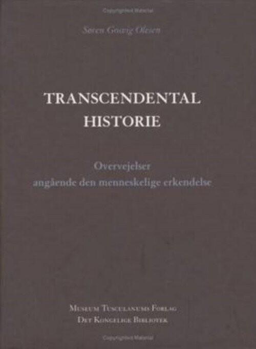 Image of   Transcendental Historie - Søren Gosvig Olesen - Bog