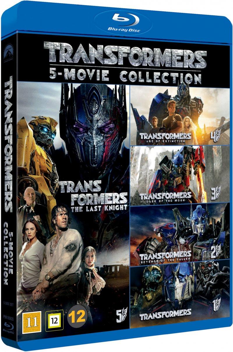 transformers 1-5 boks blu-ray film → køb billigt her