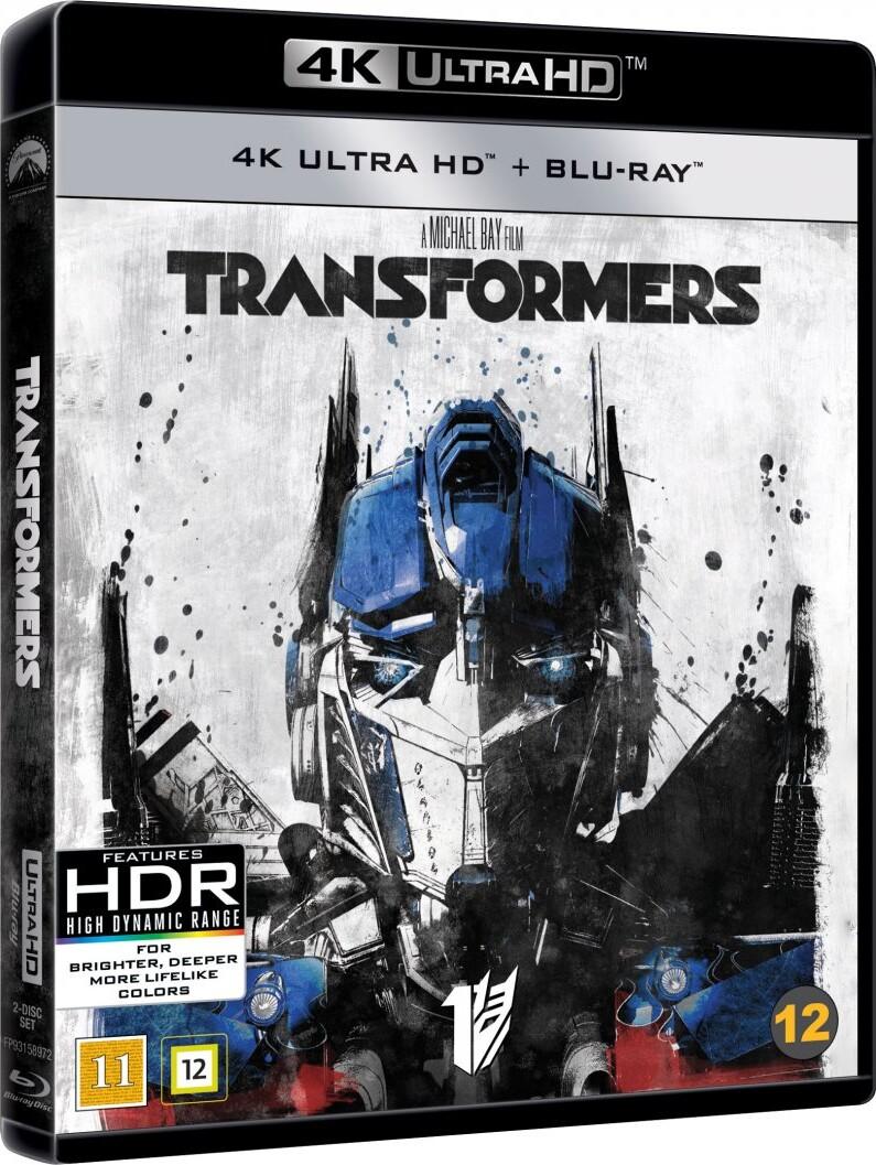 Image of   Transformers 1 - 4K Blu-Ray
