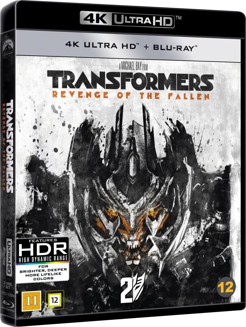 Image of   Transformers 2 - De Faldnes Hævn - 4K Blu-Ray