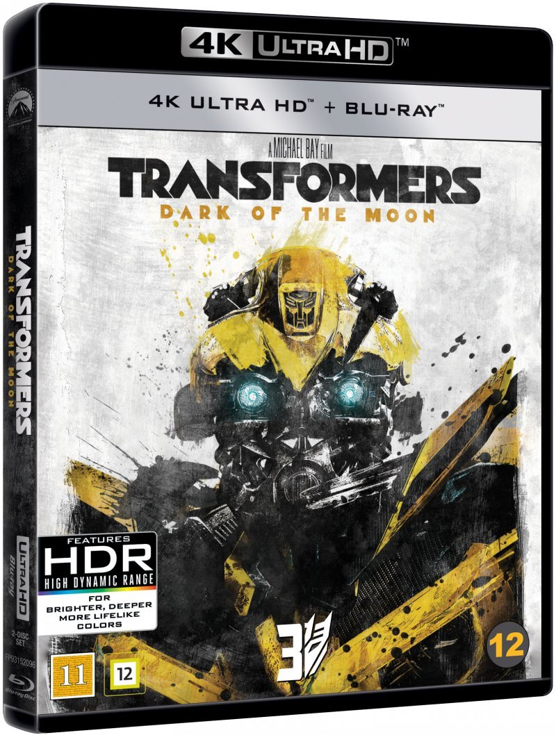 Image of   Transformers 3 - The Dark Of The Moon - 4K Blu-Ray