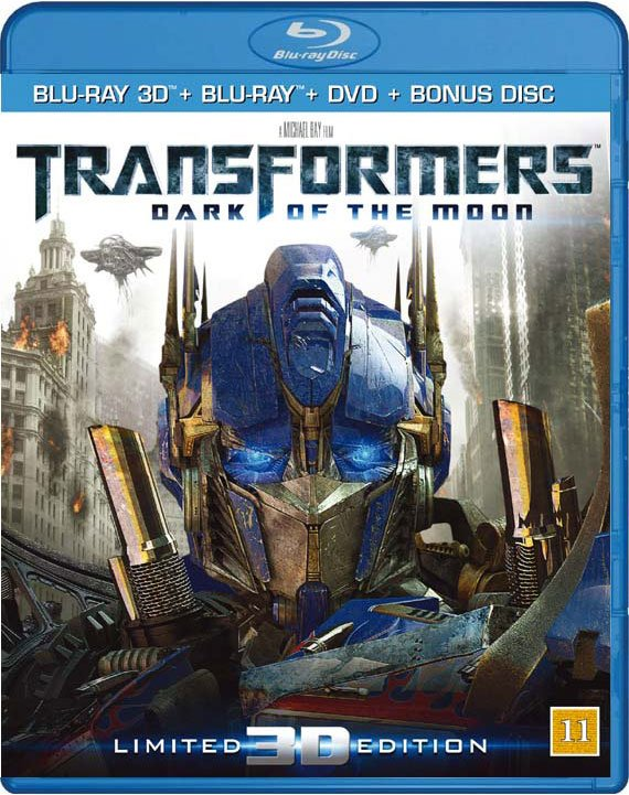 Billede af Transformers 3 The Dark Of The Moon - 3D Blu-Ray