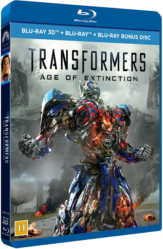 Image of   Transformers 4 - Age Of Extinction - 3D Blu-Ray