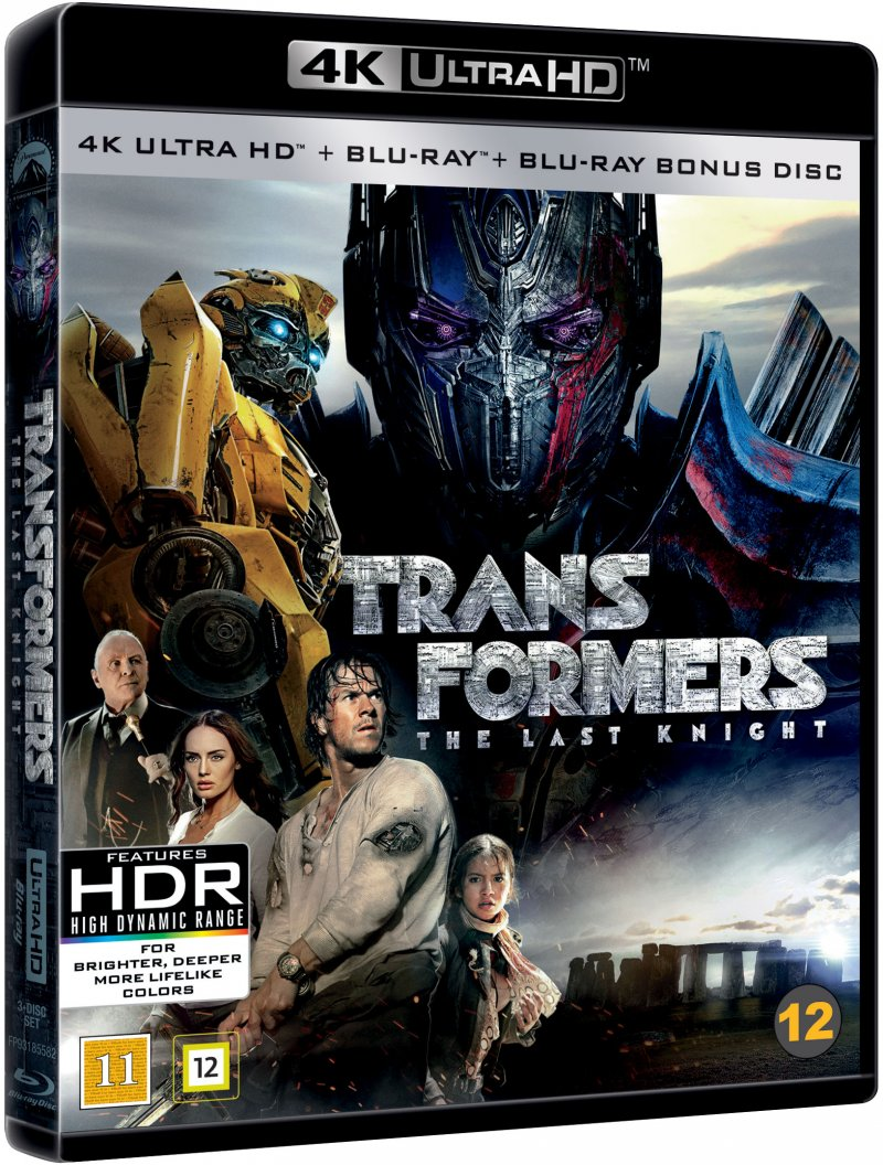 Image of   Transformers 5: The Last Knight - 4K Blu-Ray