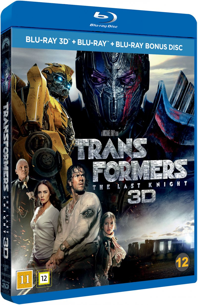 Image of   Transformers 5: The Last Knight - 3D Blu-Ray
