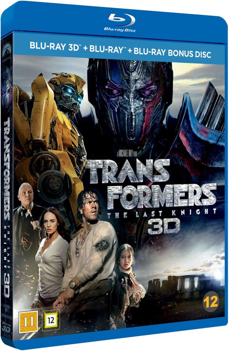Billede af Transformers 5: The Last Knight - 3D Blu-Ray
