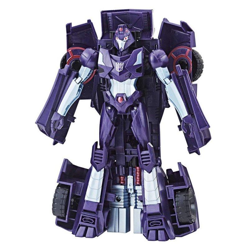 Image of   Transformers Legetøj - Cyberverse Warrior - Shadow Striker 16 Cm.