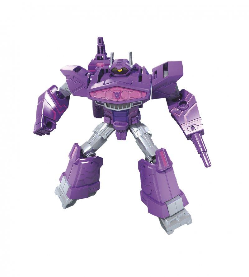 Image of   Transformers Legetøj: Cyberverse Warrior - Shockwave - 16 Cm.