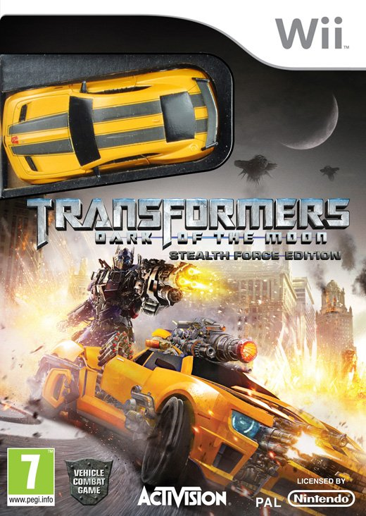 Image of   Transformers: Dark Of The Moon Bundle Med Legetøj - Wii