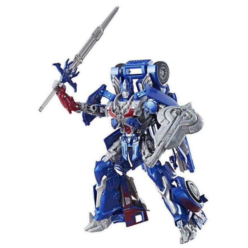 Transformers The Last Knight Leader Class Figur - Optimus Prime