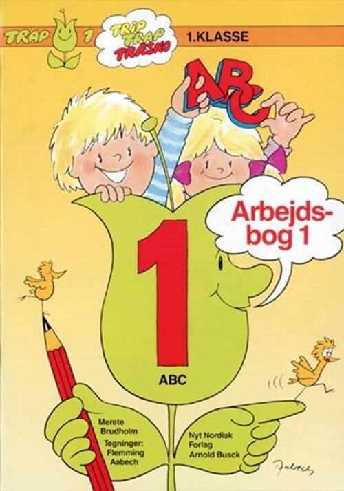Trap Abc. 1. Klasse - Merete Brudholm - Bog