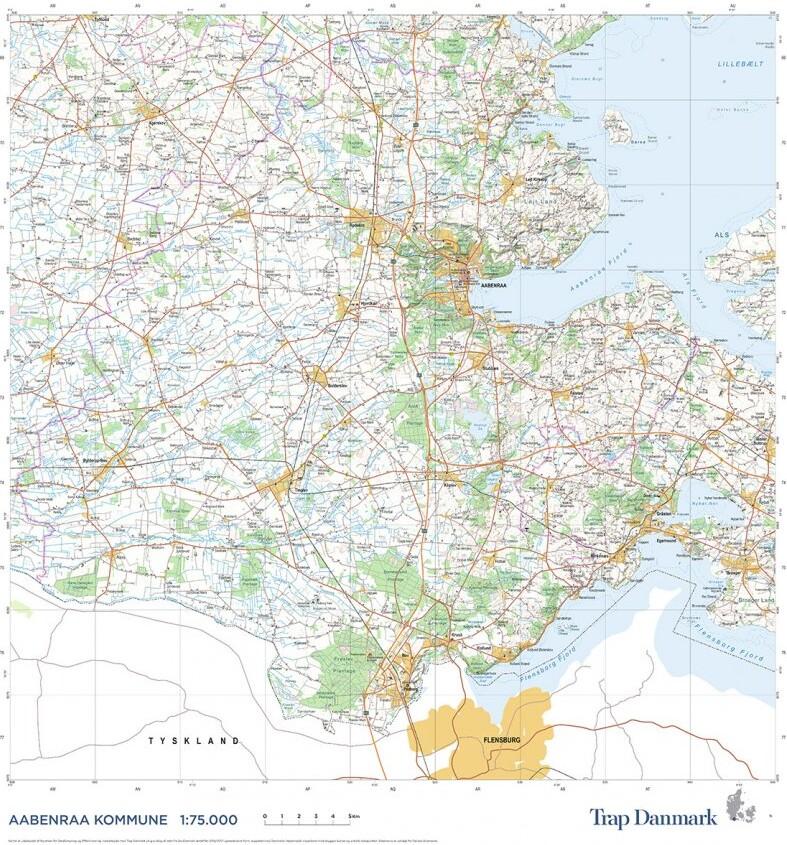 Trap Danmark: Falset Over Aabenraa Kommune - Trap Danmark - Bog
