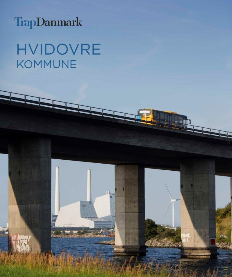 Image of   Trap Danmark: Hvidovre Kommune - Trap Danmark - Bog