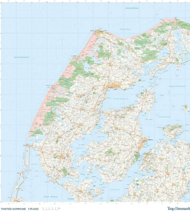 Trap Danmark: Over Thisted Kommune - Trap Danmark - Bog