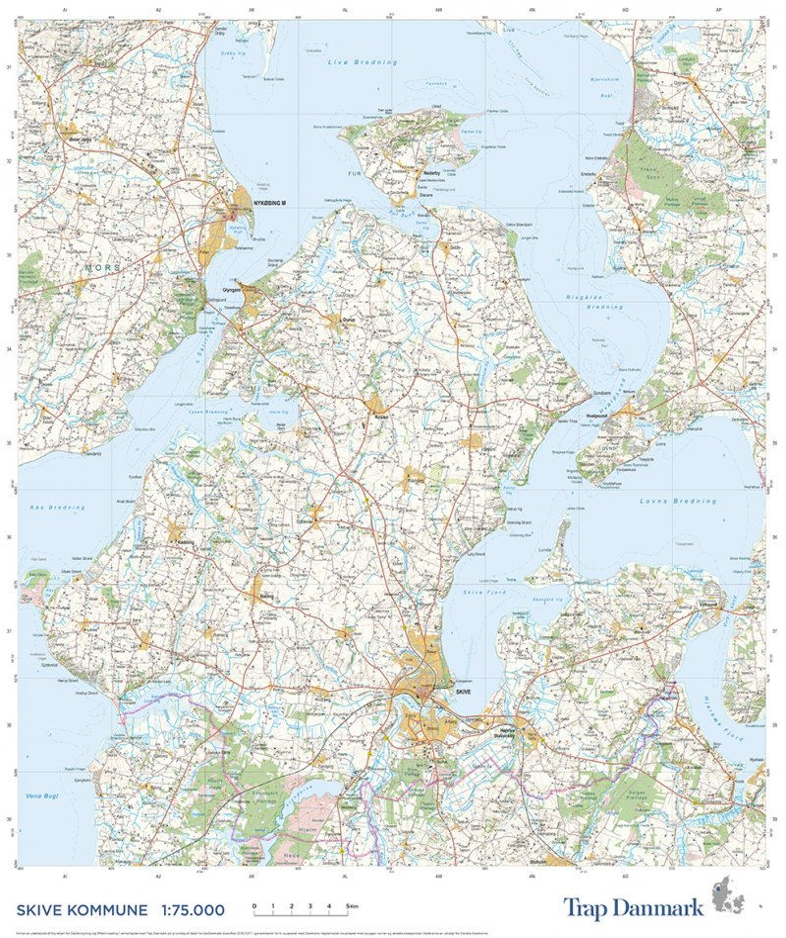Trap Danmark Over Skive Kommune Af Trap Danmark Bog Gucca Dk