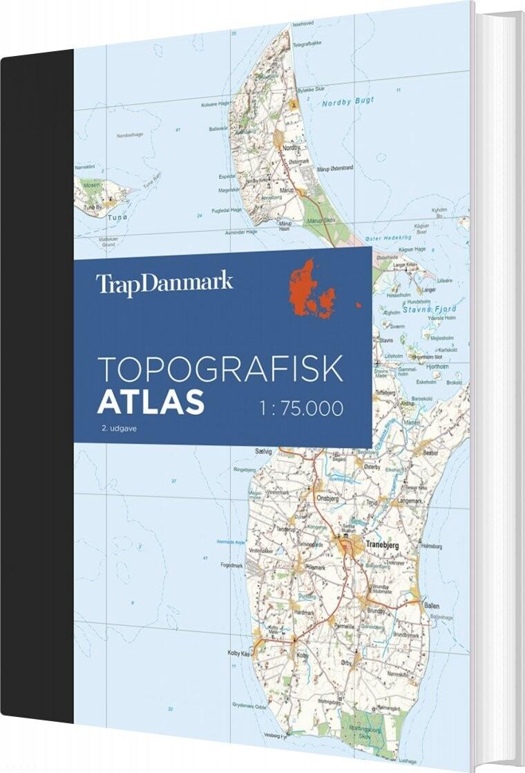 Trap Danmark Topografisk Atlas, 2. Udgave - Trap Danmark - Bog