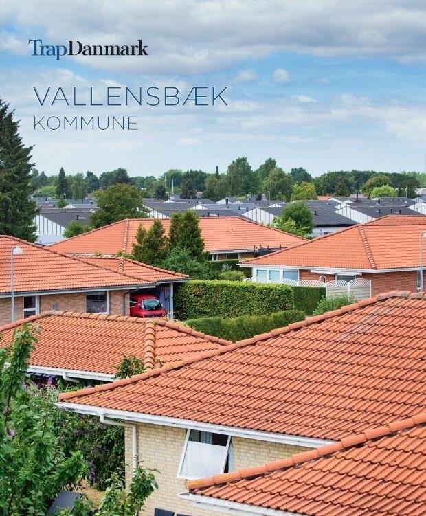 Image of   Trap Danmark: Vallensbæk Kommune - Trap Danmark - Bog