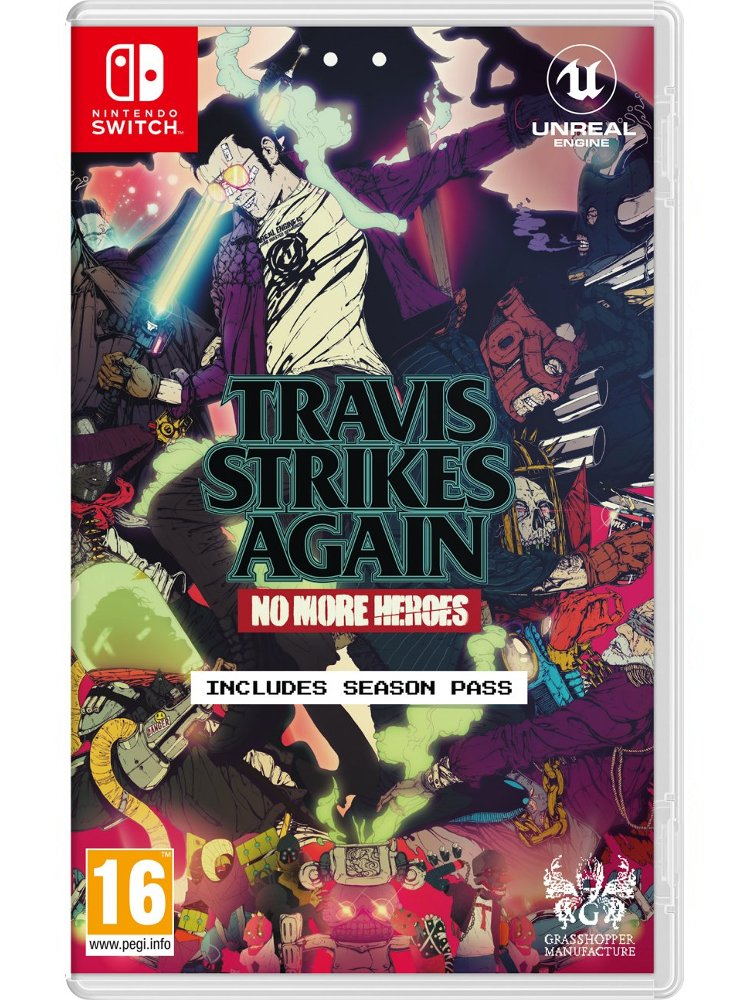 Image of   Travis Strikes Again: No More Heroes - Nintendo Switch