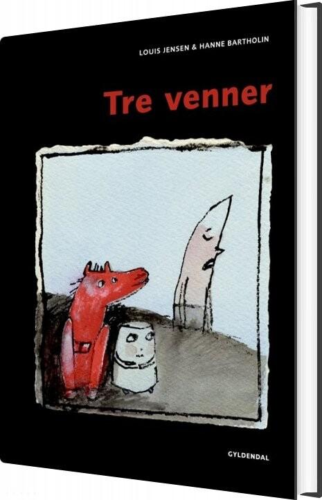 Image of   Tre Venner - Louis Jensen - Bog