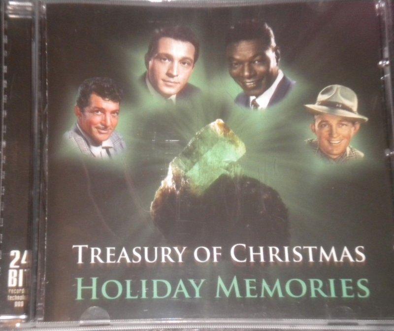 Image of   Treasury Of Christmas - Holiday Memories - CD