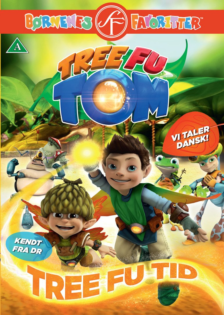 tree fu tom legetøj