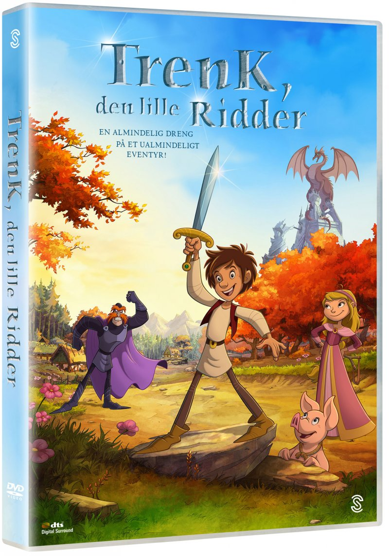 Image of   Trenk Den Lille Ridder - DVD - Film