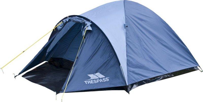Trespass Ghabhar 4 Personers Telt - Blå