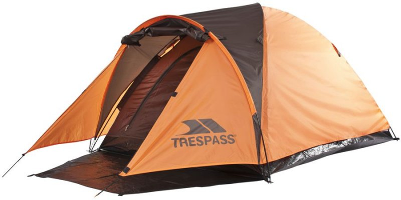 Trespass Tarmachan 2 Personers Telt - Orange