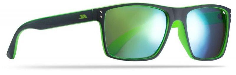 Trespass Zest Outdoor Solbriller Uv400 - Sort / Grøn