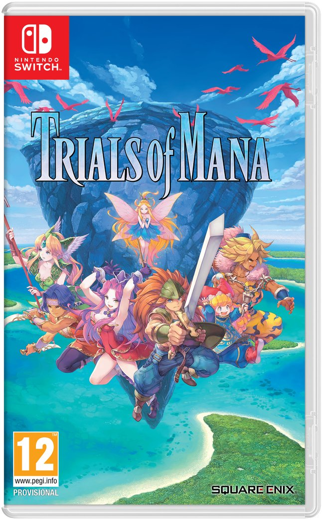 Image of   Trials Of Mana - Nintendo Switch