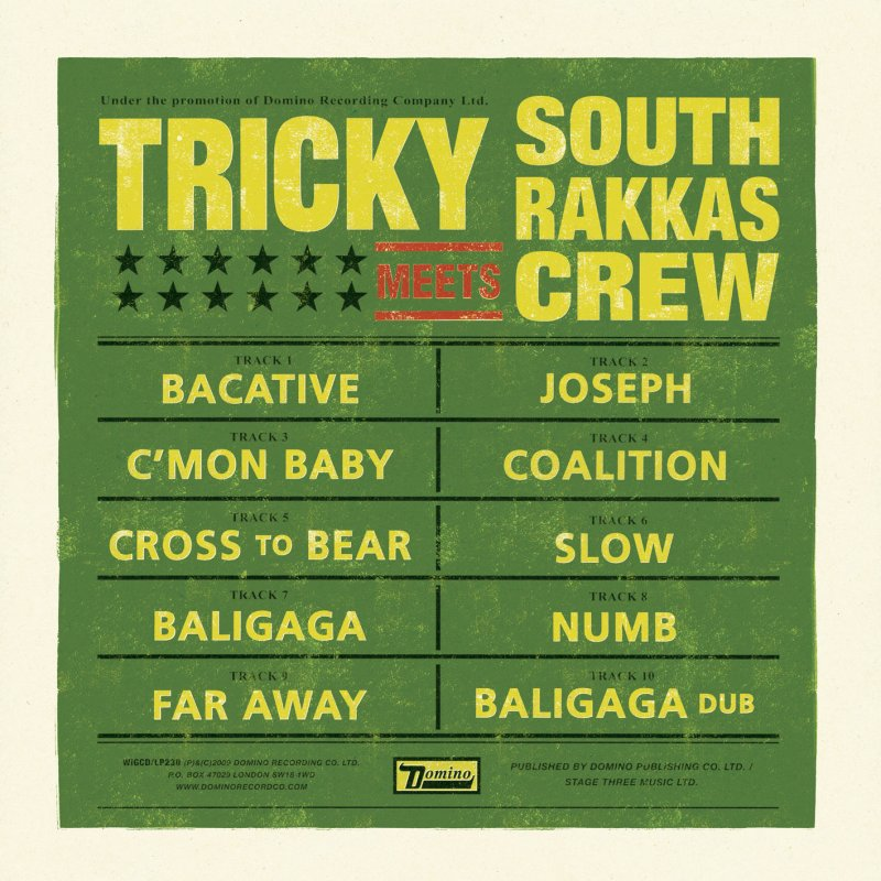 Image of   Tricky - Tricky Meets South Rakkas Crew - CD