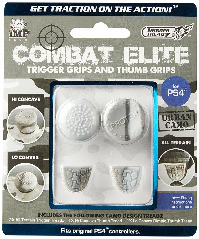 Trigger Grips Og Thumb Grips Til Ps4 Controller - Combat Elite