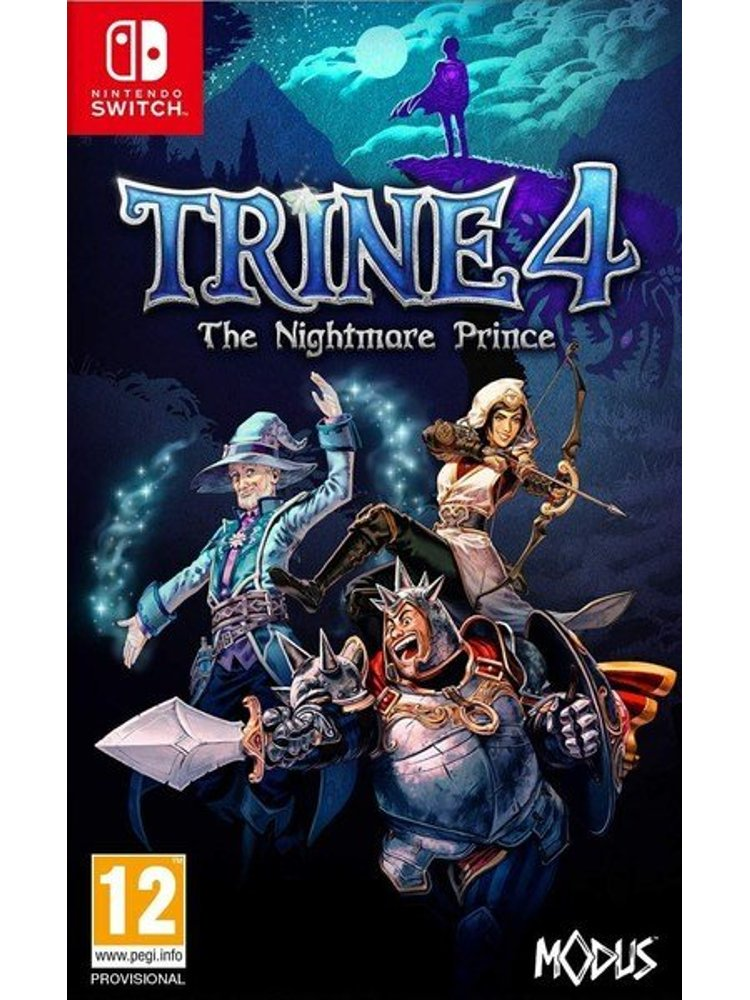 Image of   Trine 4 - The Nightmare Prince - Nintendo Switch
