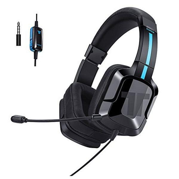 Image of   Tritton Kama+ Gaming Headset Med Mikrofon - Sort Blå
