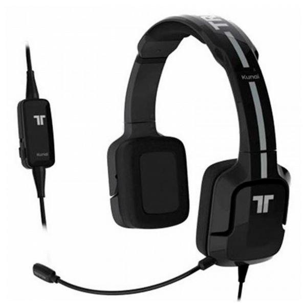 Image of   Tritton Kunai - Gaming Høretelefoner Til Med Mikrofon - Sort Hvid