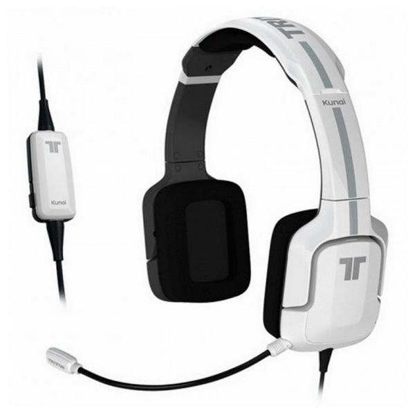 Image of   Tritton Kunai Pro - 7.1 Gaming Høretelefoner Med Mikrofon - Hvid